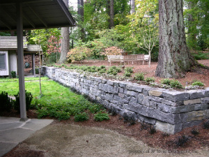Lake Oswego, Oregon Stone Wall